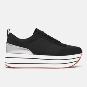 Zara Collection Platform Sneakers size 39